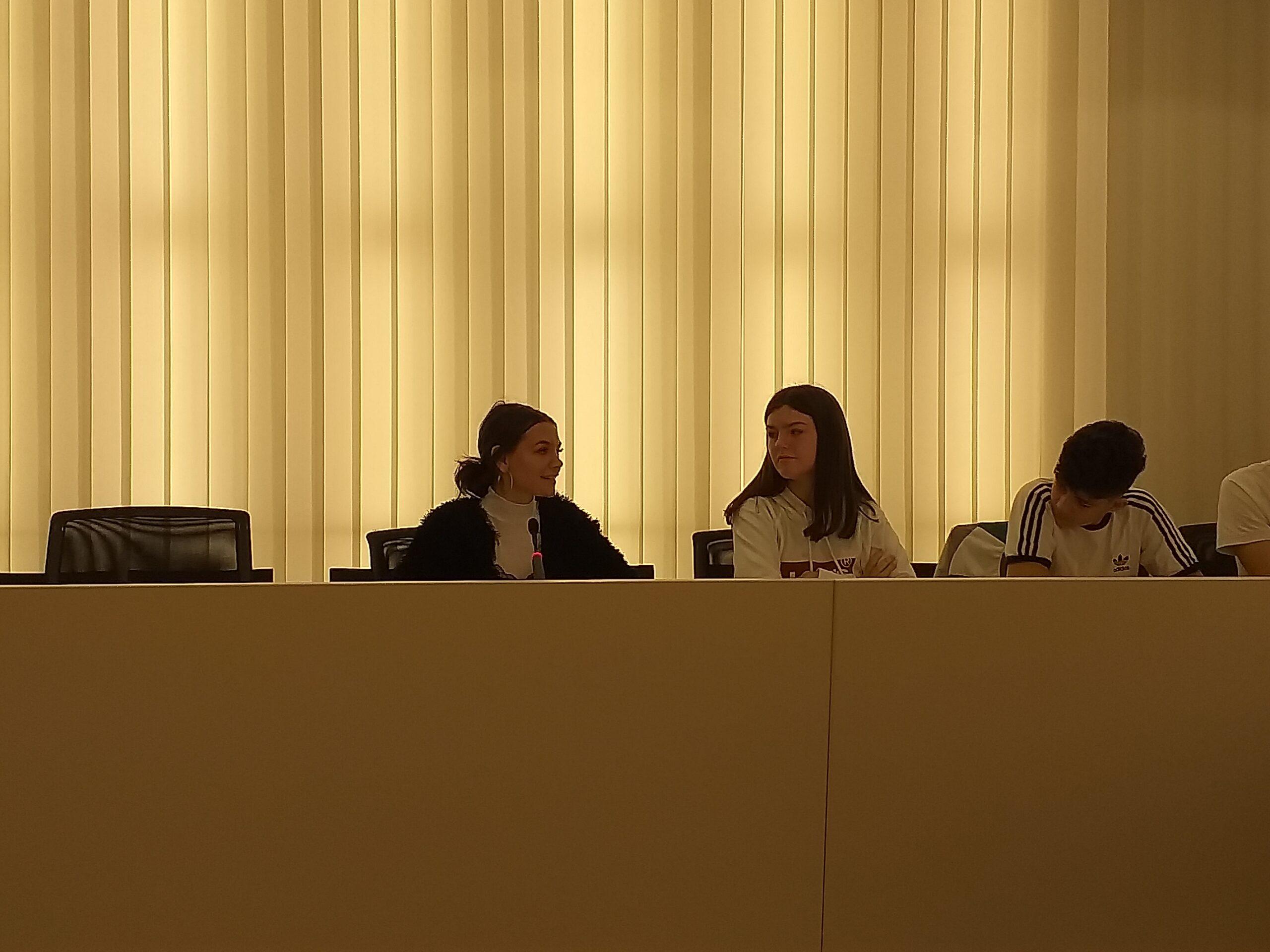 ARCH Intalnire cu primarul din Sant Cugat del Vallès, prezentarea scolii de Violeta Mujdar