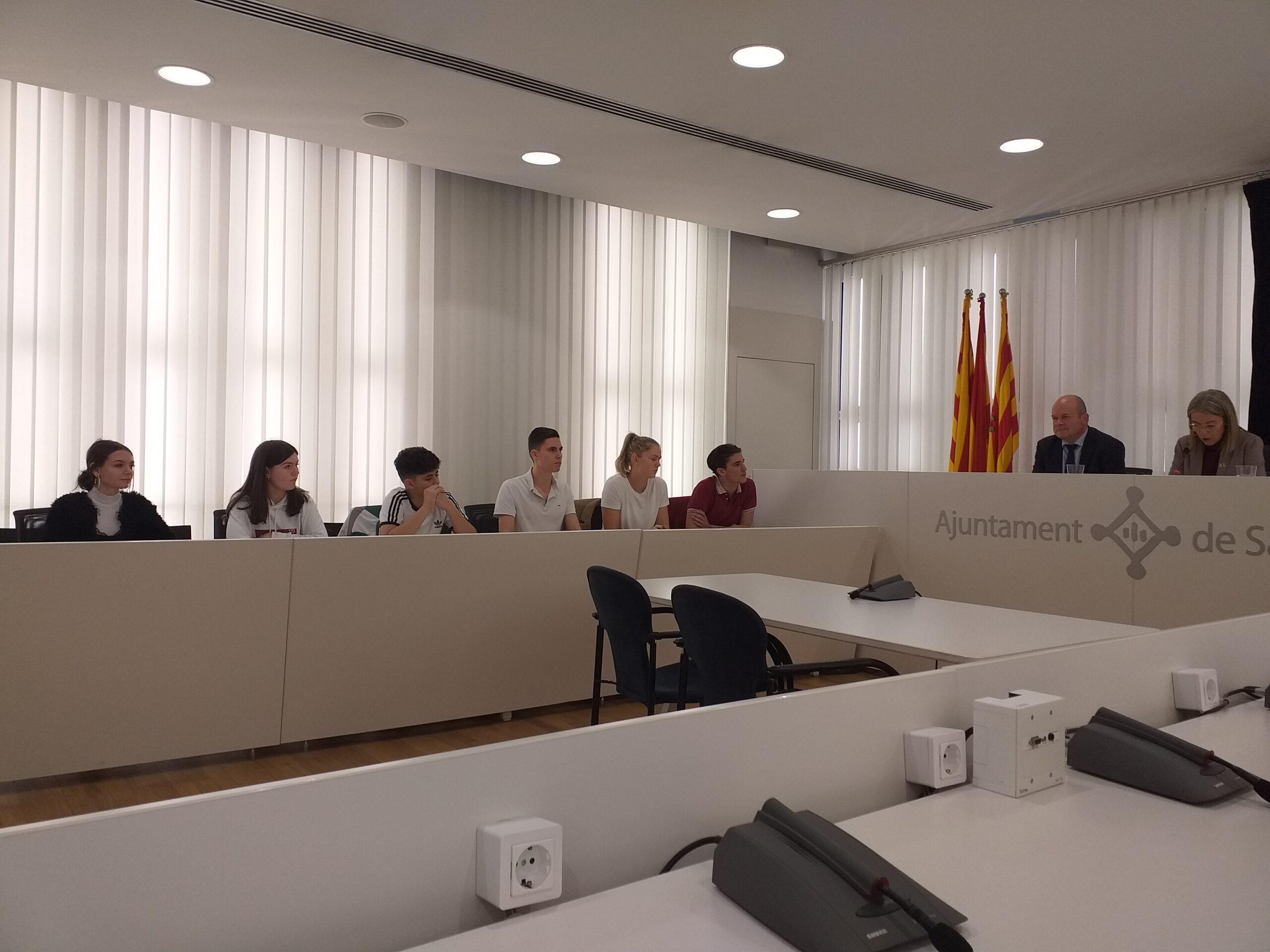 ARCH Intalnire cu primarul din Sant Cugat del Vallès
