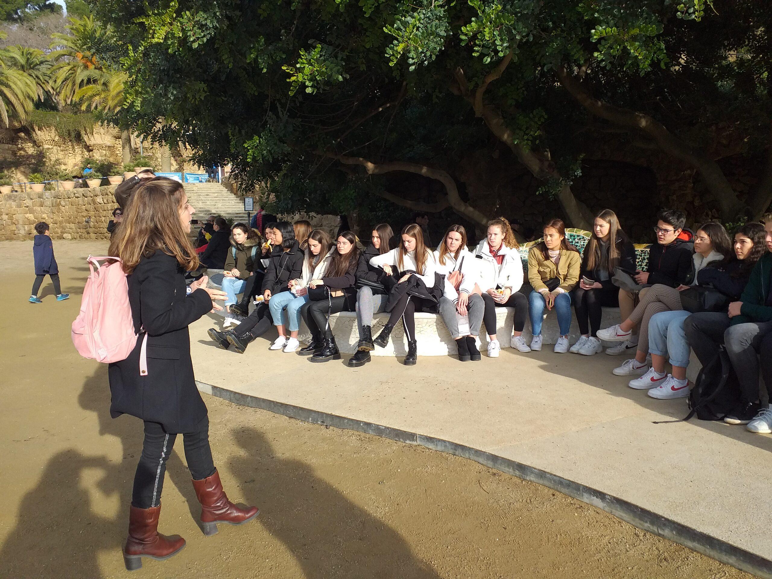 ARCH Vizita Parc Guell